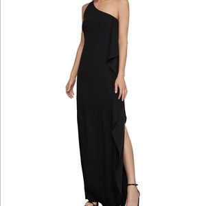 One-Shoulder Evening Gown